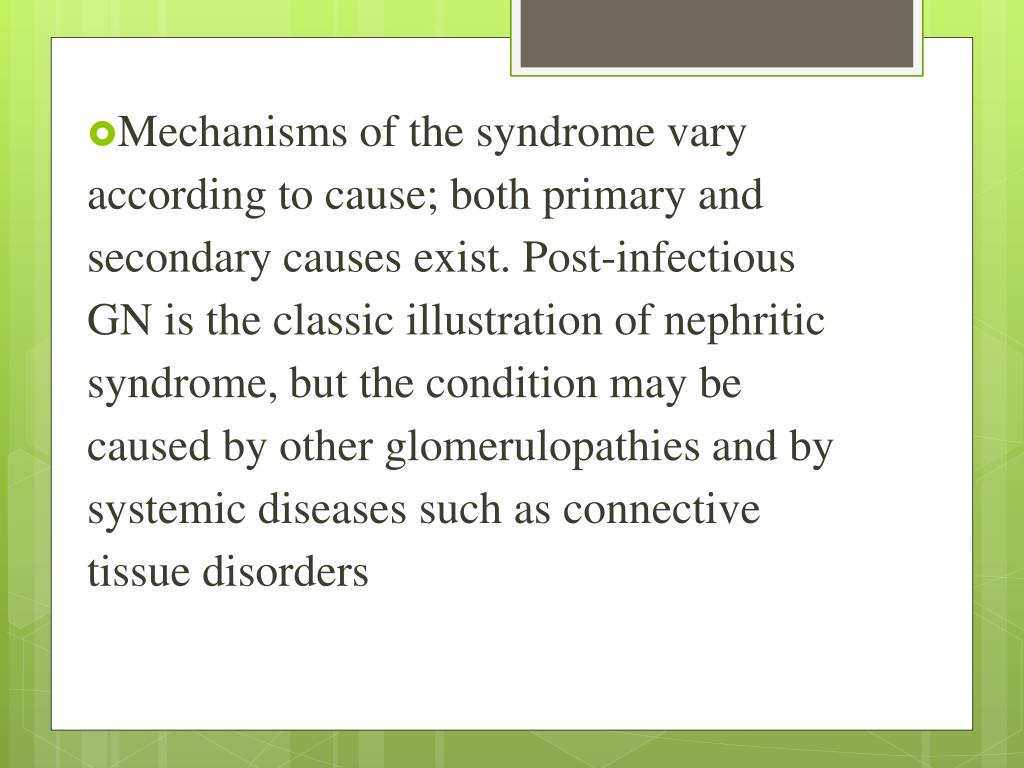 PPT - Nephrotic nephritic syndrome PowerPoint Presentation - ID:2238935