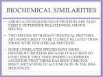 biochemical similarities2
