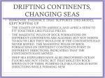 drifting continents changing seas1