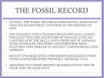 the fossil record4