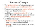 summary concepts