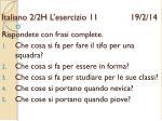 italiano 2 2h l esercizio 11 19 2 14
