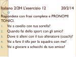 italiano 2 2h l esercizio 12 20 2 14