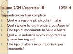 italiano 2 2h l esercizio 18 10 3 14