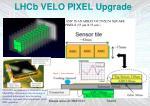 lhcb velo pixel upgrade