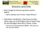 grocery card links