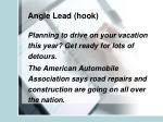 angle lead hook