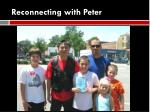 reconnecting with peter