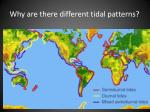 why are there different tidal patterns