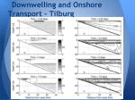 downwelling and onshore transport tilburg