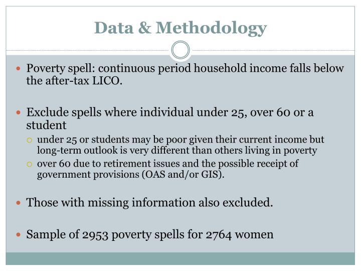 Data & Methodology