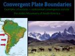 convergent plate boundaries2