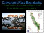 convergent plate boundaries4