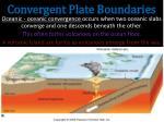 convergent plate boundaries5