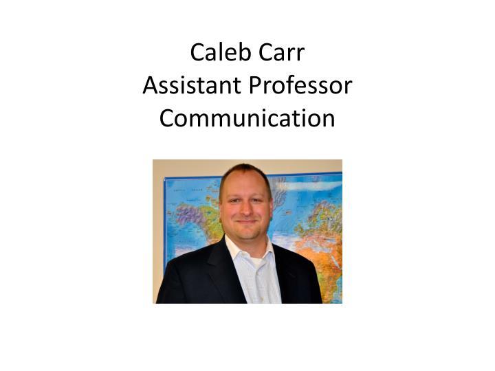 Caleb Carr