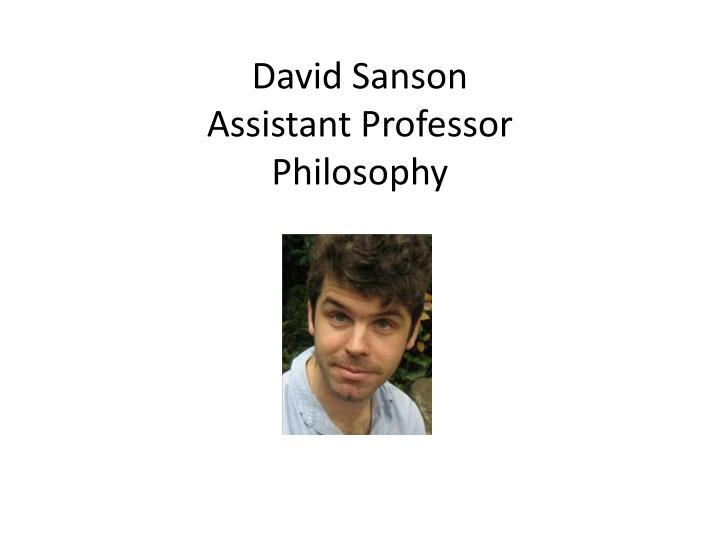 David Sanson