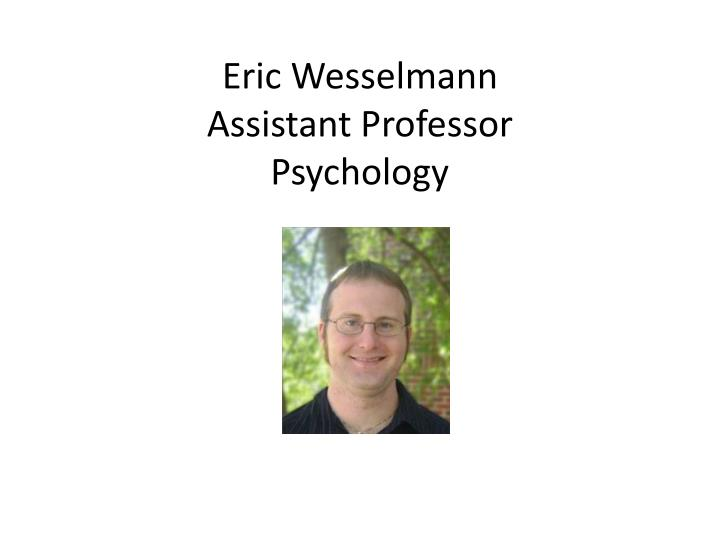 Eric Wesselmann