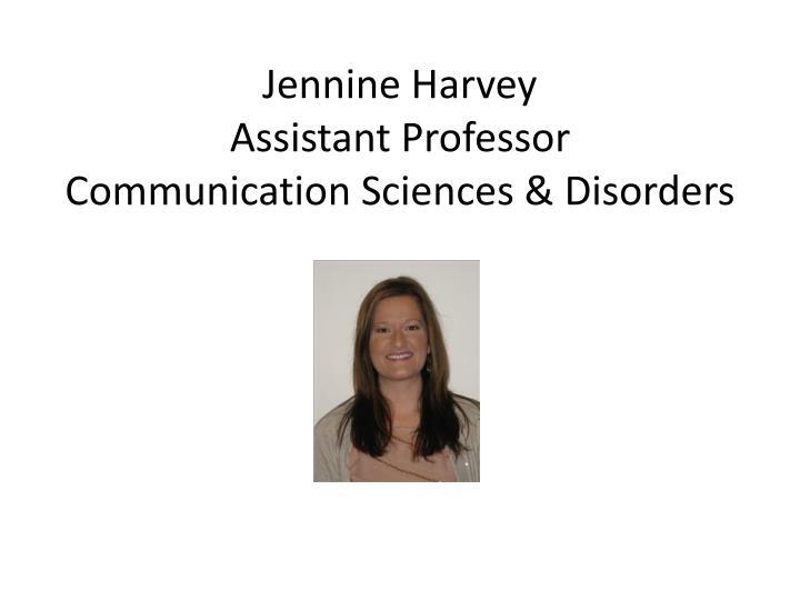 Jennine Harvey