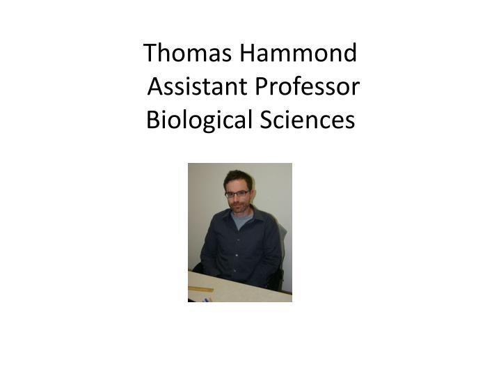 Thomas Hammond
