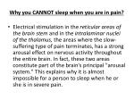 why you cannot sleep when you are in pain