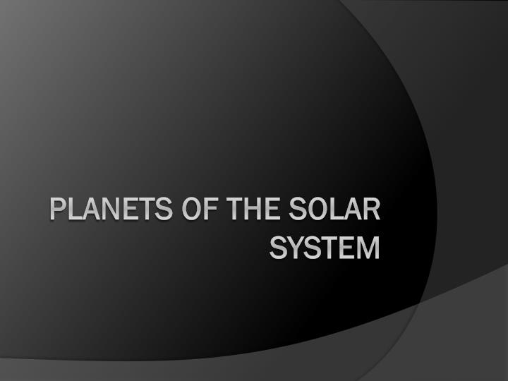 planets of the solar system n.