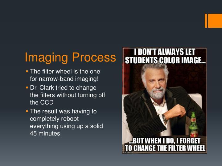 Imaging Process