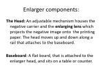 enlarger components