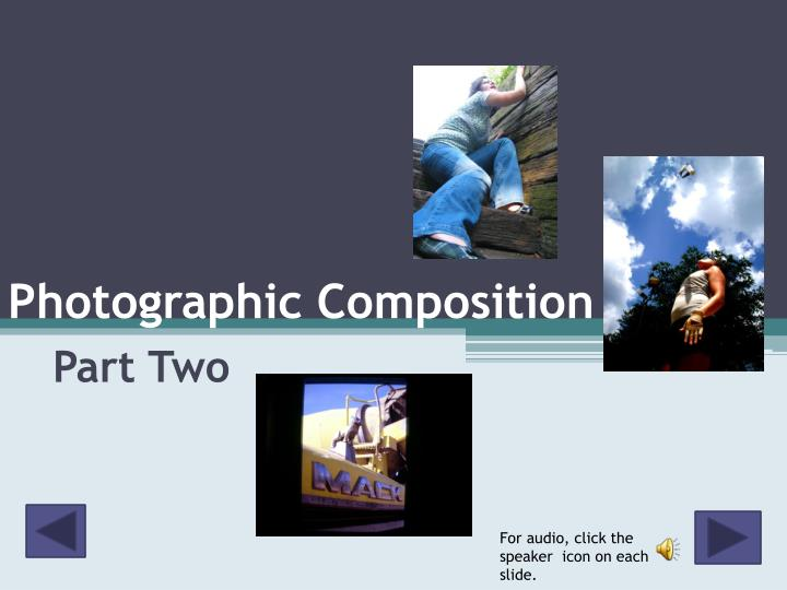 photographic composition n.