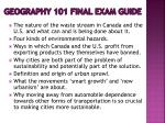 geography 101 final exam guide1
