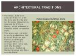 architectural traditions1