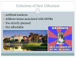 criticisms of new urbanism