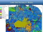 land use suitability model
