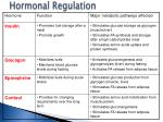 hormonal regulation2