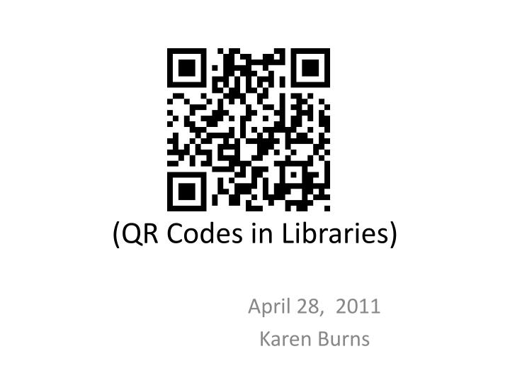 qr codes in libraries n.