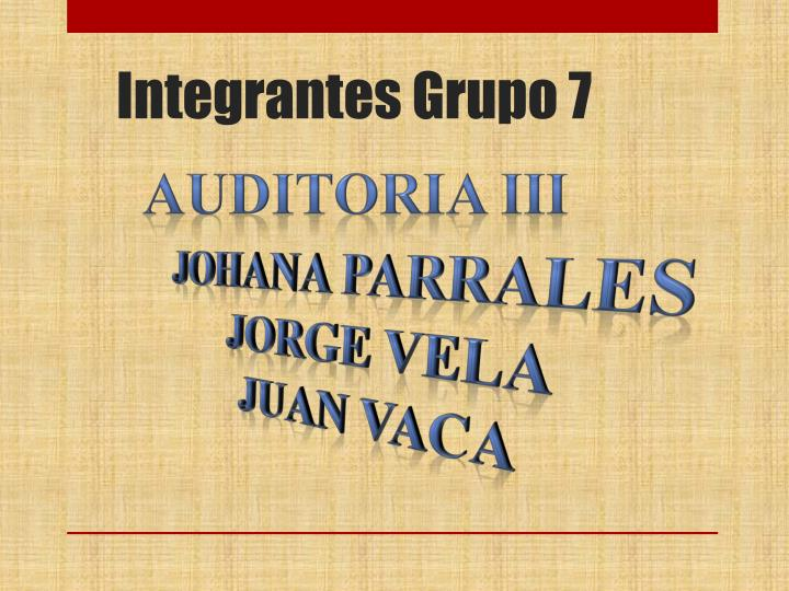 integrantes grupo 7 n.