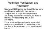 prediction verification and replication2