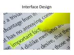 interface design2