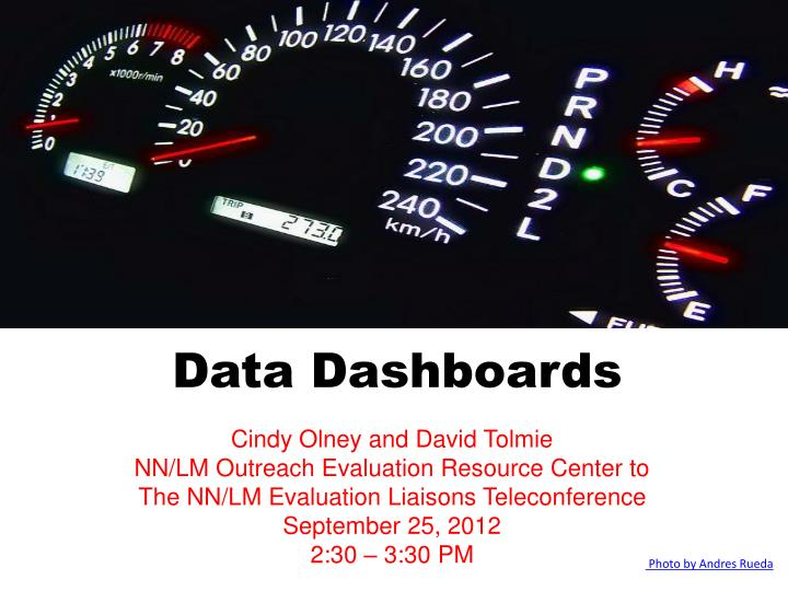 data dashboards n.