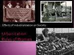 effects of industrialization on society
