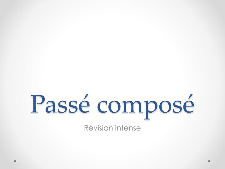pass compos n.