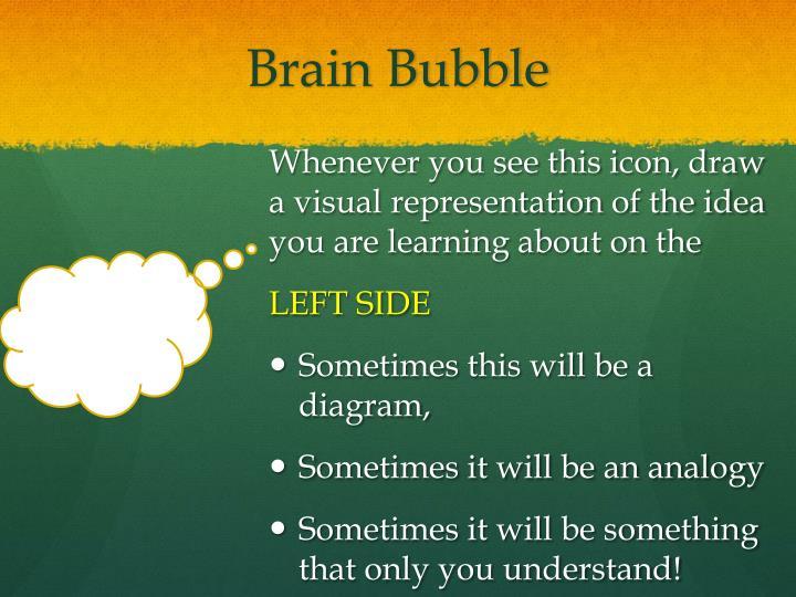 Brain Bubble
