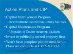 action plans and cip