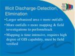 illicit discharge detection elimination
