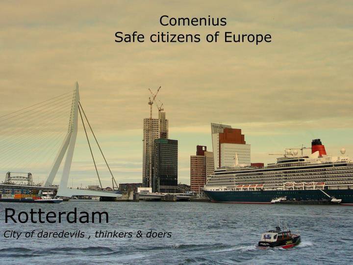 comenius safe citizens of europe n.