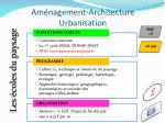 am nagement architecture urbanisation11