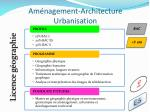 am nagement architecture urbanisation7