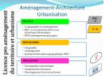 am nagement architecture urbanisation8