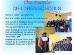 the people children schools