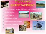 the people entertainment