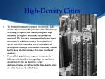 high density cities